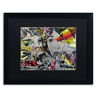 Trademark Fine Art That There Is by Dan Monteavaro 16 x 20 Black Matted Black Frame (886511780194)