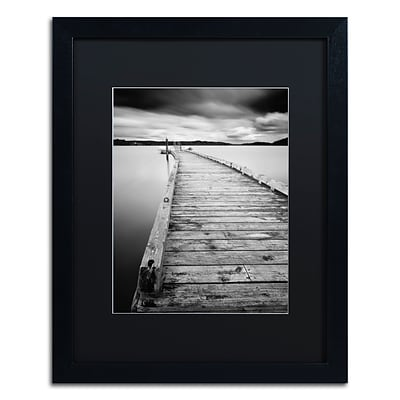 Trademark Fine Art Motchia by Moises Levy 16 x 20 Black Matted Black Frame (886511870536)