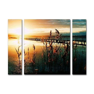 Trademark Fine Art Wish You Were Here by Beata Czyzowska Young 30 x 41 Multi Panel Art Set Large (886511916296)