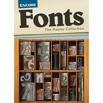 Encore Fonts - The Master Collection for Mac (1 User) [Download]
