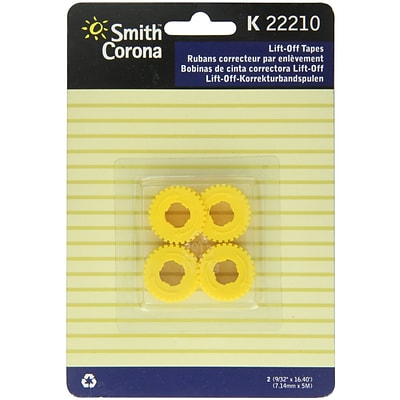 Smith Corona 22210 K Series Lift-Off Ribbon, 2/Pack