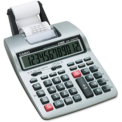 Casio® HR-100TM Printing Calculator