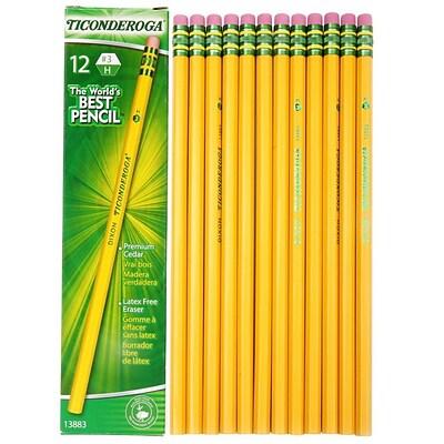 ticonderoga 3 yellow pencils quill com