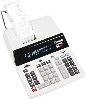 Canon(r) MP21DX Printing Heavy Duty Calculator