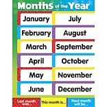 Trend® Months of the Year Learning Charts