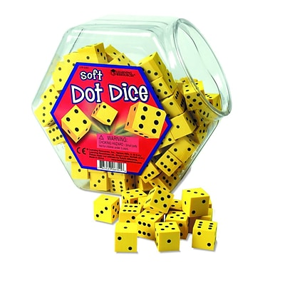 Learning Resources® Hands-On Soft™ Dot Dice