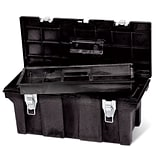 Rubbermaid 26Lx11-1/2Wx11-1/8H Blk Tool Bx