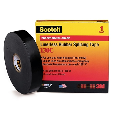 Scotch® Linerless Splicing Tapes; 3/4 x 66, 7 mil
