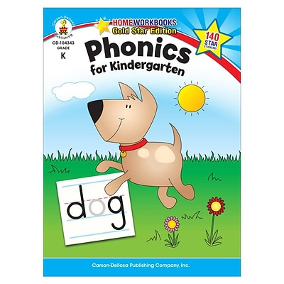 Carson-Dellosa Phonics for Kindergarten Resource Book
