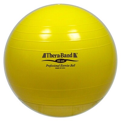 Thera-Band® Standard Exercise Balls, 45cm, Yellow