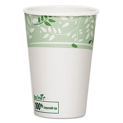 Dixie EcoSmart 16 oz. Compostable Hot Cups 50/Pack (2346PLA)