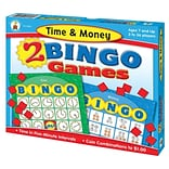 Time and Money Bingo Board Game