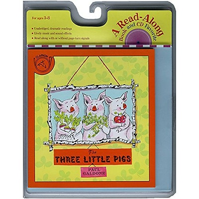 Carry Along Book & CD Sets, Three Little Pigs