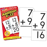 Trend Addition 0-12 Skill Drill Flash Cards
