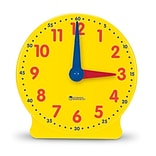 Time, Learning Resources® Big Time Learning Clock, 12-Hour Demonstration Clock