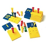 Lauri® Toys Number Puzzle-Boards and Pegs