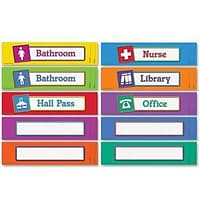 Hall Passes & Library Cards