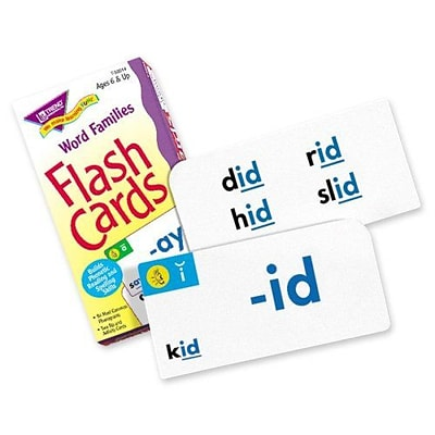 Trend® Skill Drill Flash Cards, Word Families