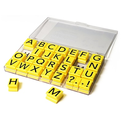 Educational Insights® Jumbo Stamps, Uppercase Letters