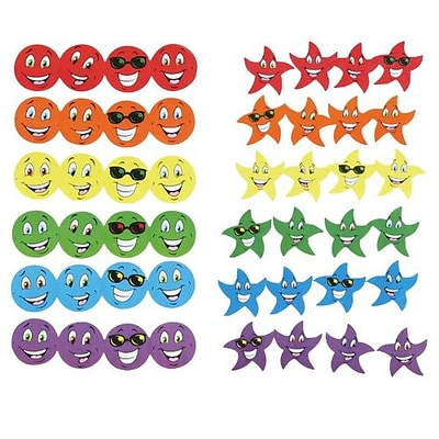 Trend® Stinky Stickers® Variety Packs, Smiles & Stars Scented
