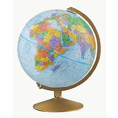 The Explorer Political Raised Relief Classroom Globe, 12