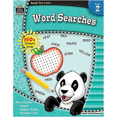 Ready•Set•Learn: Word Searches, Grade 2