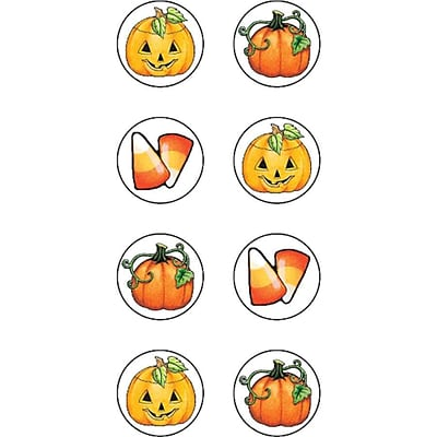 Teacher Created Resources Mini Stickers, Mary Engelbreit Halloween