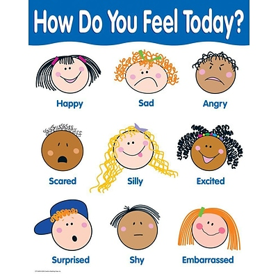 How Are You Feeling Today? Basic Skills Chart | Quill.com