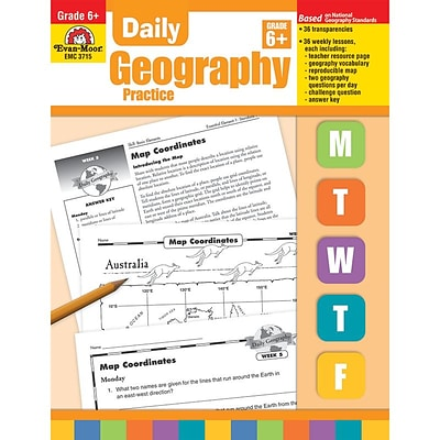 Daily Geography Practice Resource Book, Grade 6