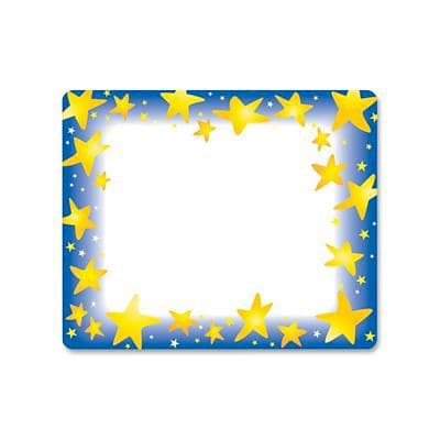 Star Brights Self-Adhesive Name Tags