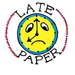 Late Paper Sweet-Arts Rubber Stamp