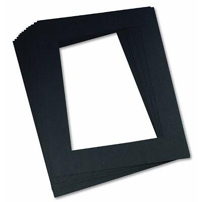 Pre-Cut Mat Frames Black 9\