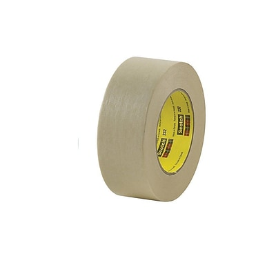 3M™ #232 Scotch® High Performance Masking Tape, 1 x 60 yds., 36/Case