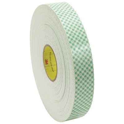 3M 4016 Double Sided Foam Tape, 3/4 x 5 yds., 1/16, 1/Pack