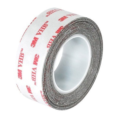 3M™ 4930 VHB Tape; White, 1/2 x 5 yds, 1/Case