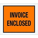 4-1/2x5-1/2 Orange Invoice Enclosed Envl.