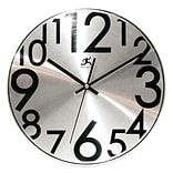12Dia. Silver Brushed Alum. Mod. Wall Clock