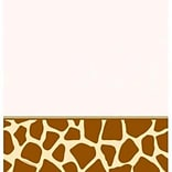 Creative Converting Giraffe Rectangular Tablecover