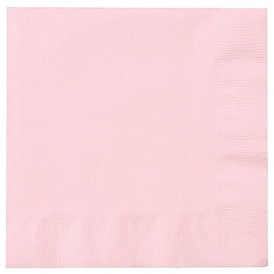 Creative Converting Classic Pink 2-Ply Luncheon Napkins, 50/Pack
