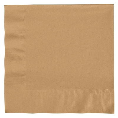 Creative Converting Glittering Gold 2-Ply Luncheon Napkins, 50/Pack