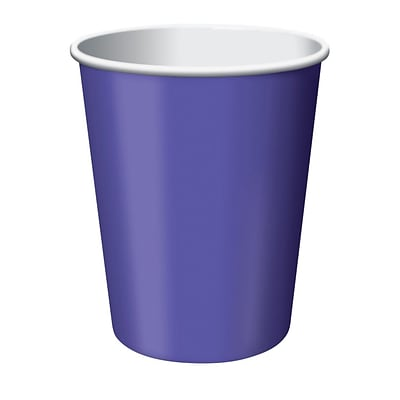 Creative Converting Purple Hot/Cold Drink Cups, 24/Pack