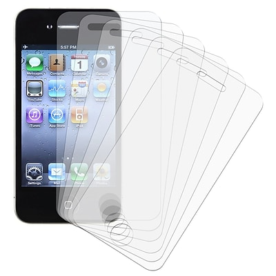 Insten® Reusable Screen Protector For Apple iPhone 4 AT&T/Verizon; 6/Set
