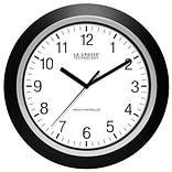 La Crosse 13.5 Analog Atomic Black Clock