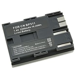 Insten® 556744 2-Piece DV Battery Bundle For Canon BP-511