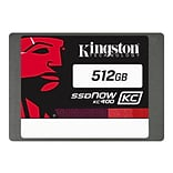 Kingston® SSDNow KC400 SKC400S37/512G 512GB 2 1/2 SATA Rev. 3.0 (6 Gbps) Internal SSD