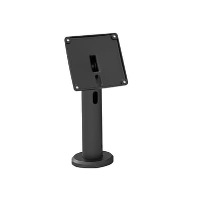 Compulocks® The New Kiosk Low-Rise Stand with VESA Mount Pole Flip & Cable Management; Black (TCDP01)