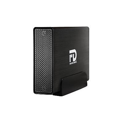 MicroNet Fantom™ Professional GFP3000EU3 3TB USB 3.0/eSATA Desktop External Hard Drive; Brushed Black