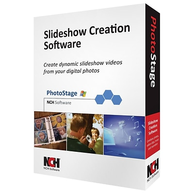 NCH Software® PhotoStage - Video Editing Software; Windows, CD-ROM (RET-PSW001)