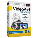 NCH Software® VideoPad - Video Editing Software; Windows, CD-ROM (RET-VPW001)