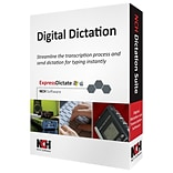 NCH Software® Digital Dictation Transcription Management Software Suite; Windows/Mac (RET-DIC001)